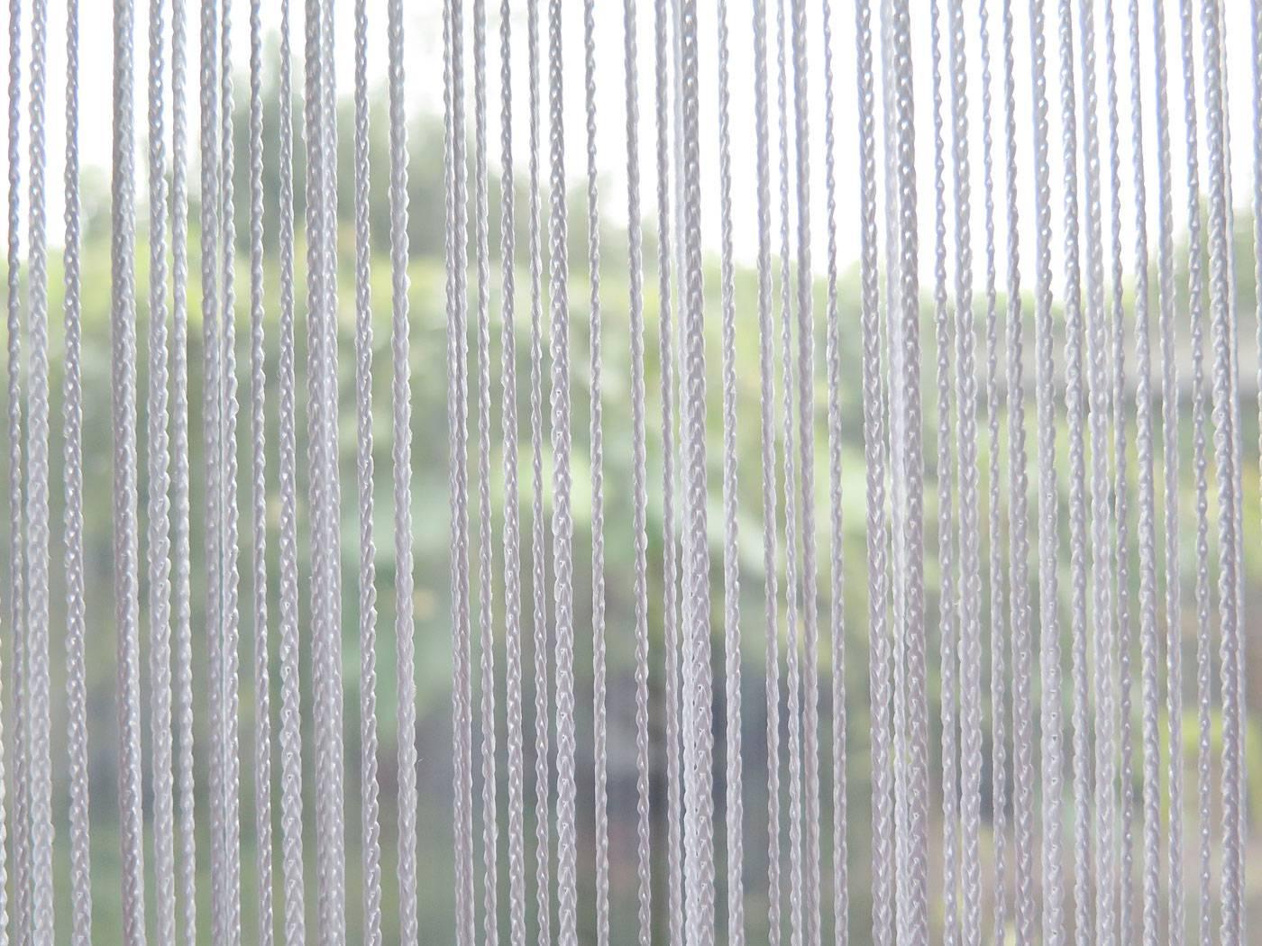 Fadenvorhang ORIENTA [weiss, Tür , Fliegenvorhang] | vorhang123.at