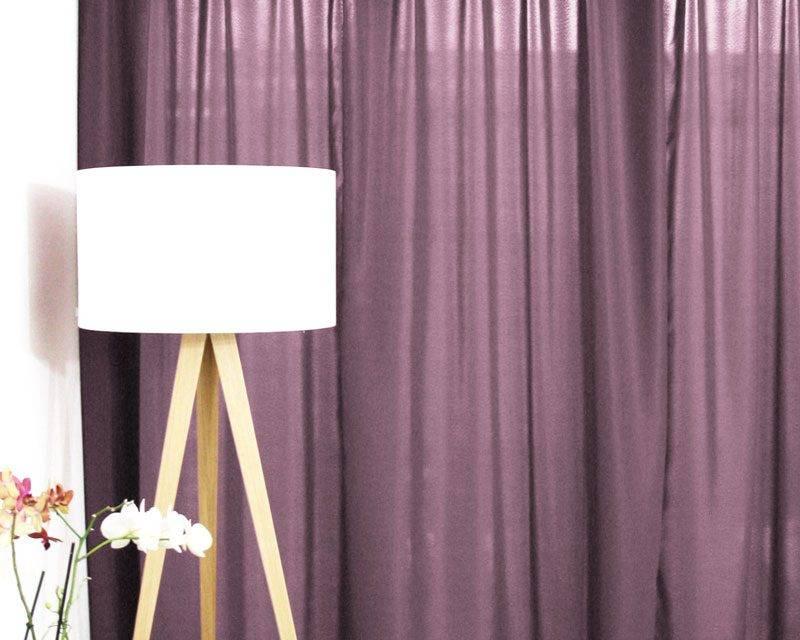 blickdichte vorhänge lila hell bei tag | vorhang123.at, Deko ideen
