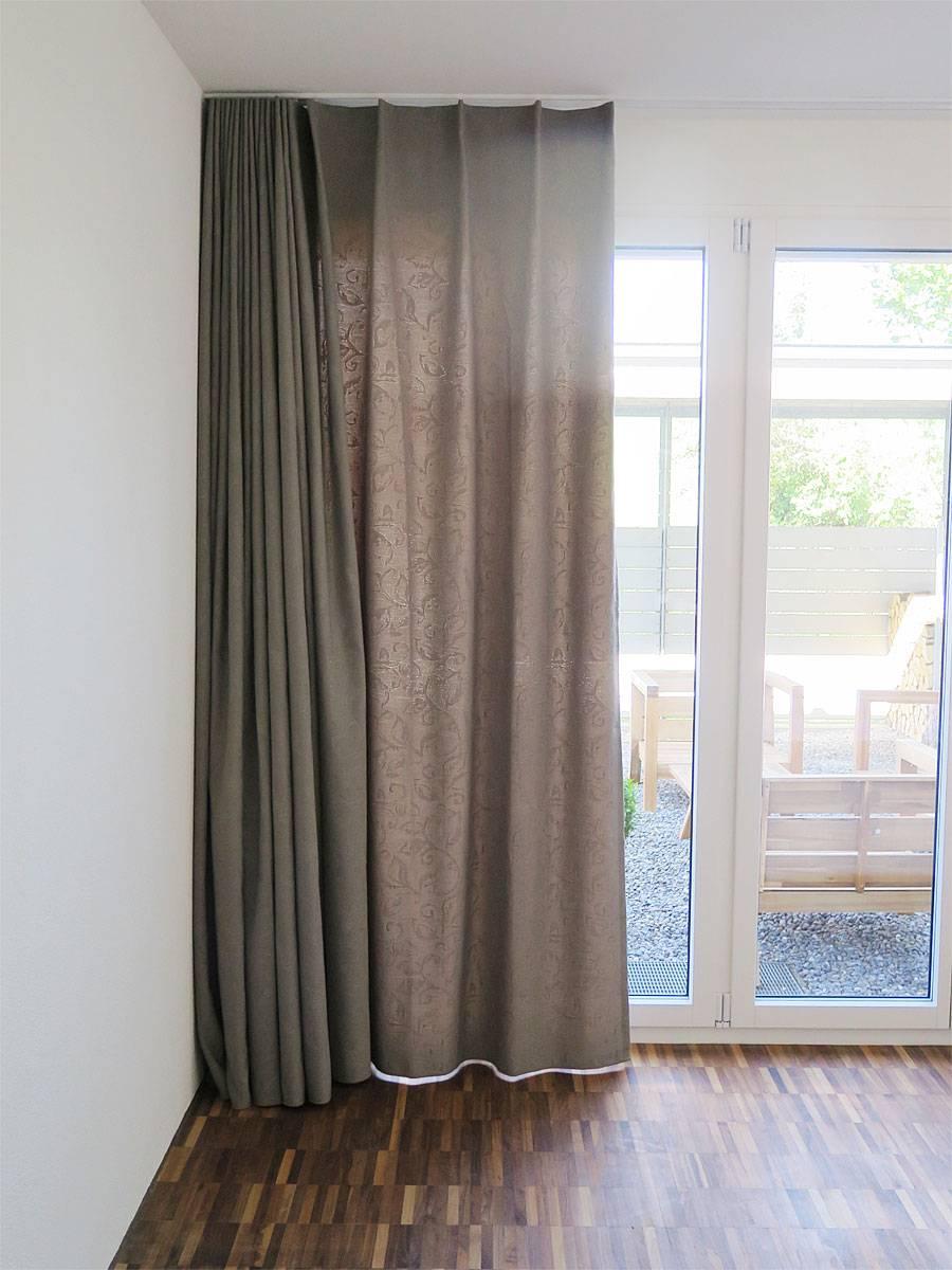 vorhang deko. Black Bedroom Furniture Sets. Home Design Ideas