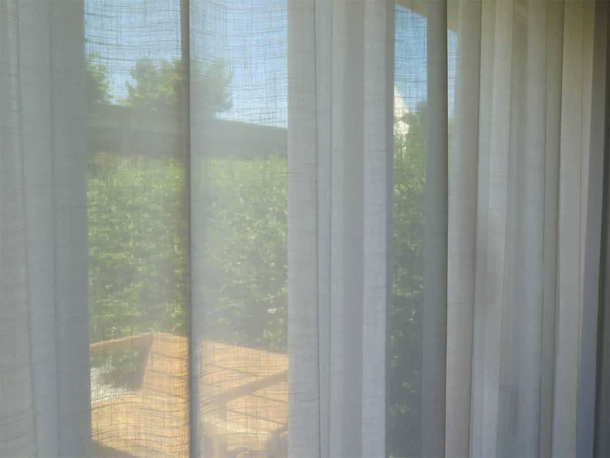 sonnenschutz leinenvorhang palermo grau. Black Bedroom Furniture Sets. Home Design Ideas