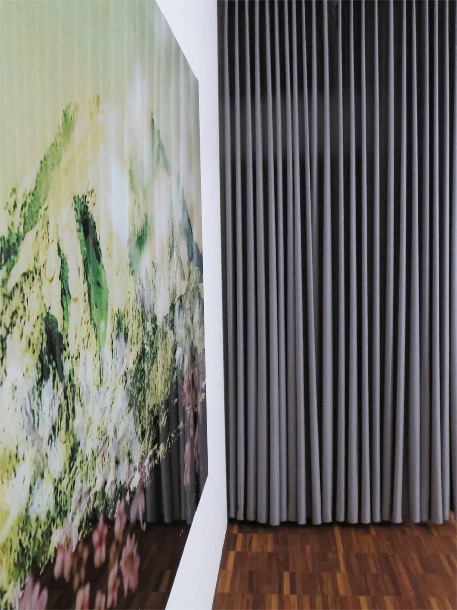 ... Moderne Einrichtung Vorhang SINGAPUR Blickdicht Und Seidenfein ...