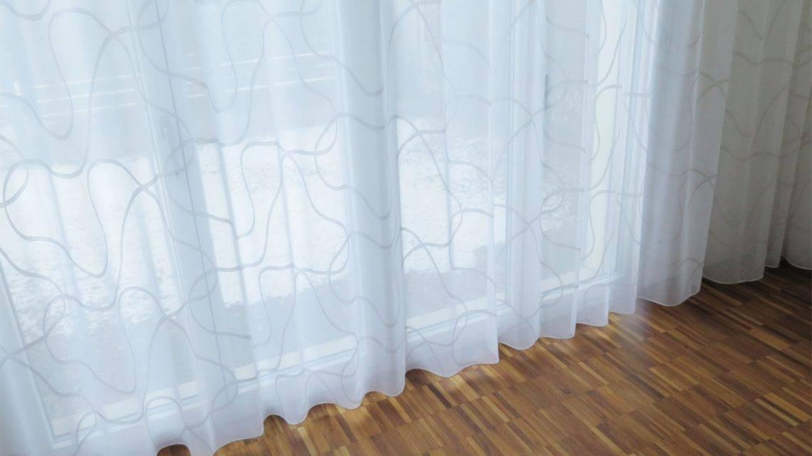 fensterfront wei er store sidney mit wellenmuster kaufen. Black Bedroom Furniture Sets. Home Design Ideas