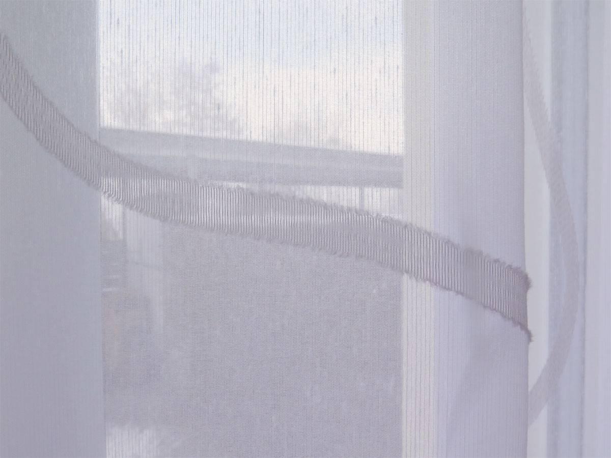 Store gardine sidney kurvenmuster wei wei wei for Innendekorateur vorhang