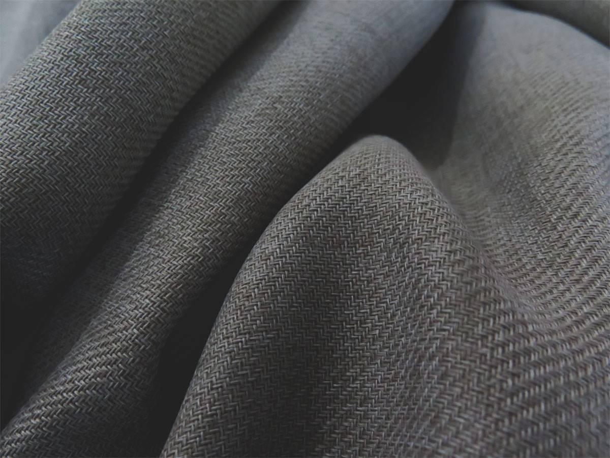 blickdichter vorhang luzern grau anthrazit uni. Black Bedroom Furniture Sets. Home Design Ideas