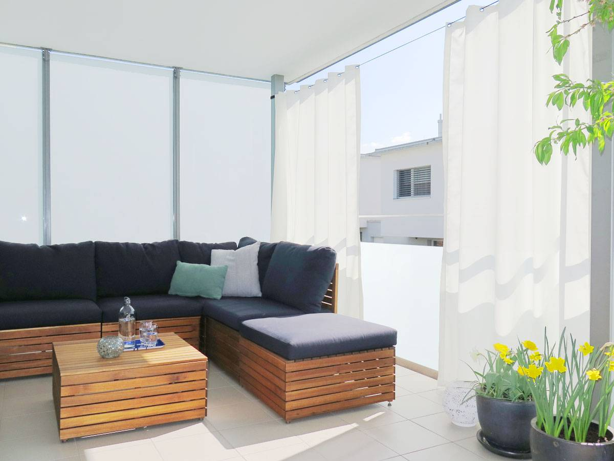 sichtschutz vorhang balkon kollektion ideen garten design als inspiration mit beispielen von. Black Bedroom Furniture Sets. Home Design Ideas