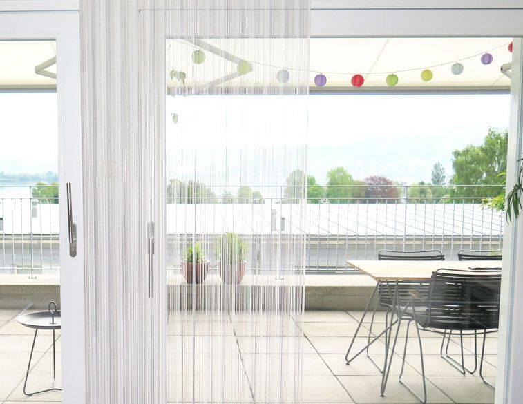 vorhang fliegengitter. Black Bedroom Furniture Sets. Home Design Ideas