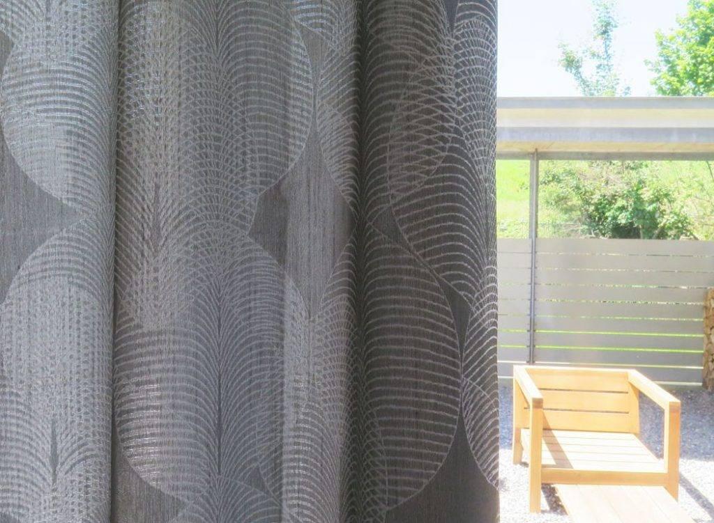 Gardine Vorhang Blickdicht Osen Mit Muster