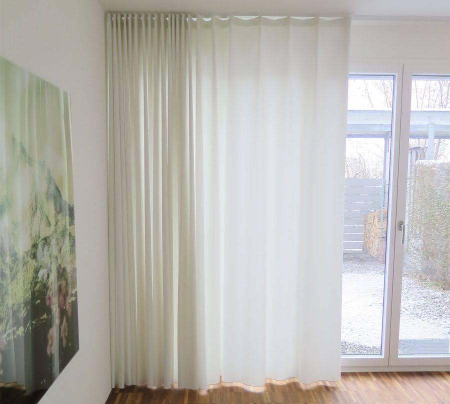 Weisser Vorhang Schlafzimmer